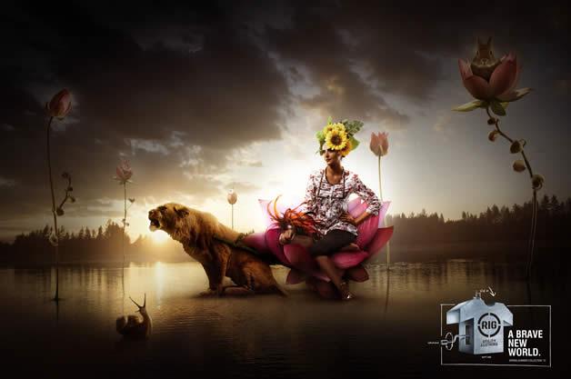 90+ publicités design et créatives de Décembre 2011 67