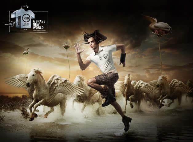 90+ publicités design et créatives de Décembre 2011 68