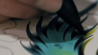 Timelapse de dessin d'un tatouage 1