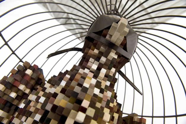 Les animaux en pixels 3D de Shawn Smith 12