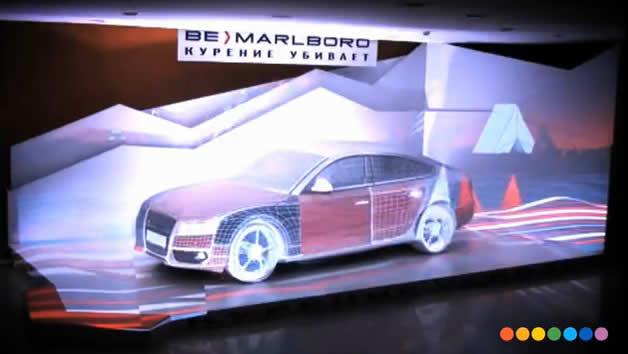 Mapping Malboro sur Audi