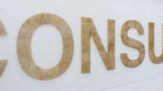 Typographie en allumettes