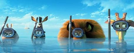 Le 1er Trailer Madagascar 3 12