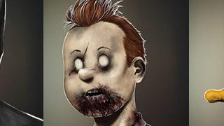 Les portraits Zombies de personnages célèbres 1