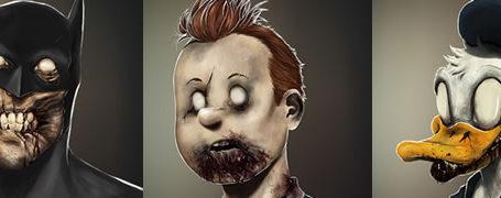 Les portraits Zombies de personnages célèbres 6