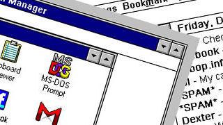 Et si nos réseaux sociaux étaient sur Windows 3.1 ?