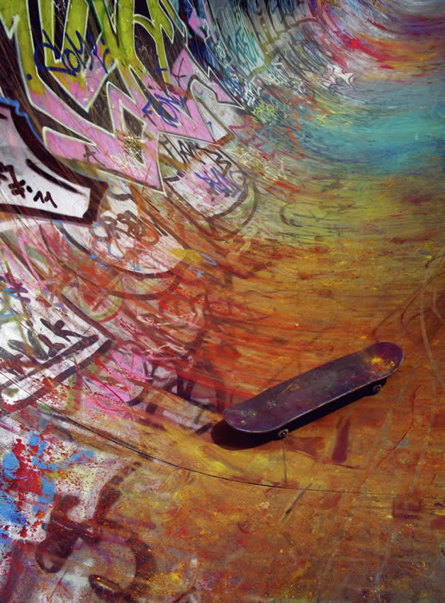 Topheadz War à Berlin - La guerre en couleurs et en skateboard 3