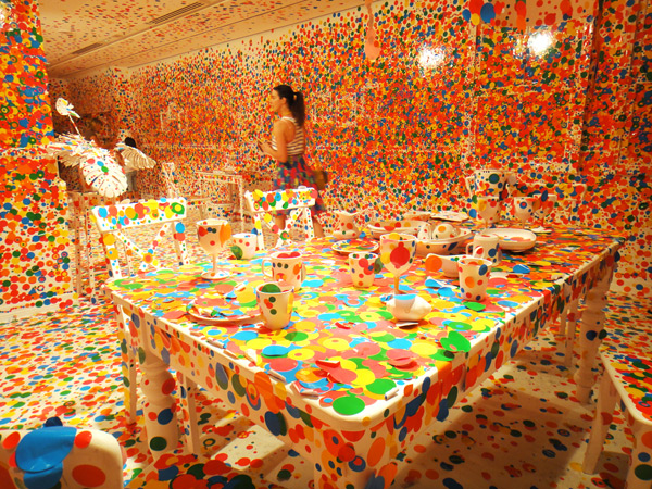 The obliteration room - 1 million de stickers 4