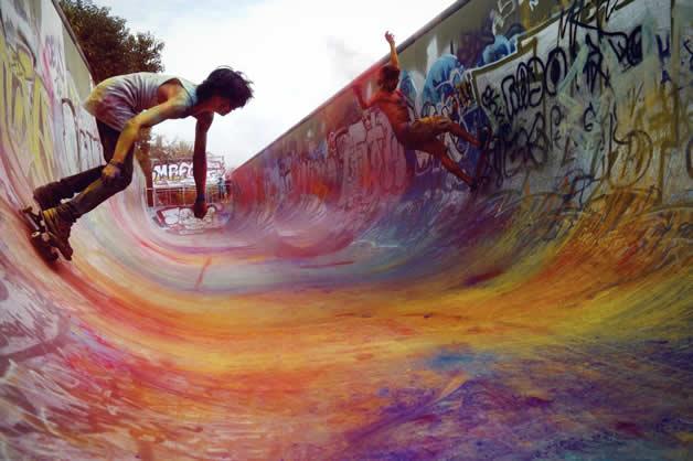 Topheadz War à Berlin - La guerre en couleurs et en skateboard 4