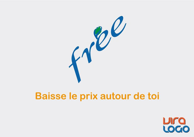 Détournements de 12 Logos suite à la sortie de #FreeMobile 4