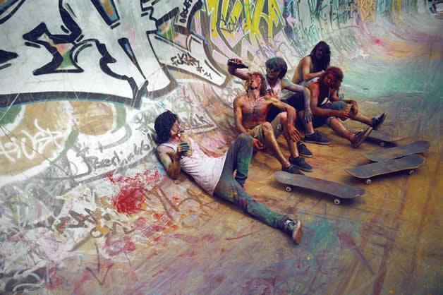 Topheadz War à Berlin - La guerre en couleurs et en skateboard 6