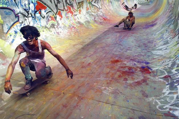 Topheadz War à Berlin - La guerre en couleurs et en skateboard 7
