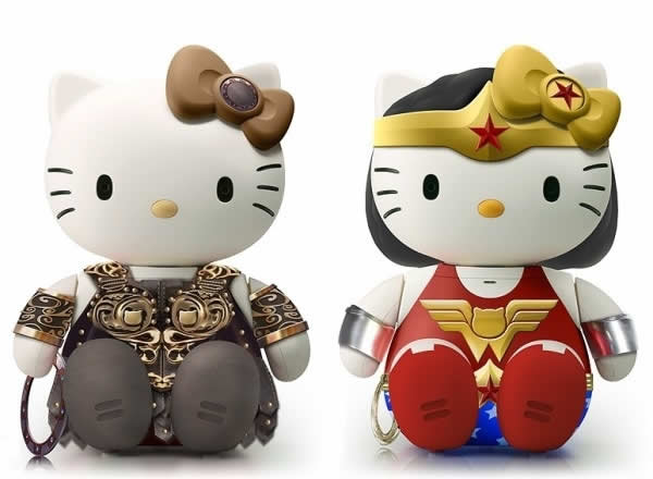 Déclinaisons d'Hello Kitty par Joseph Senio  9