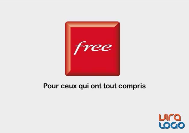Détournements de 12 Logos suite à la sortie de #FreeMobile 9