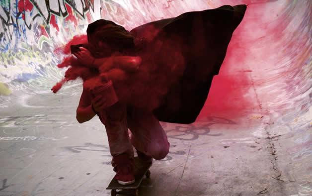 Topheadz War à Berlin - La guerre en couleurs et en skateboard 10