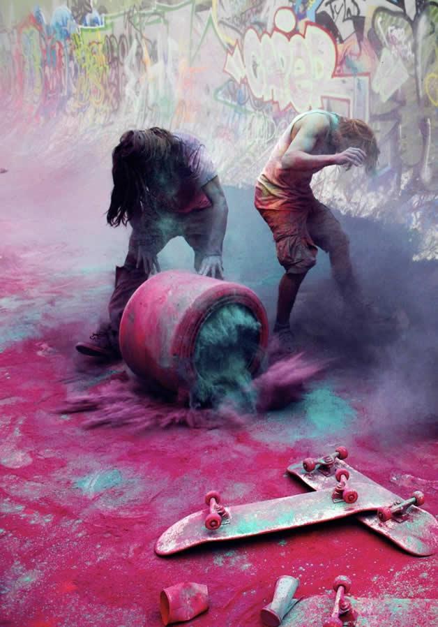 Topheadz War à Berlin - La guerre en couleurs et en skateboard 12