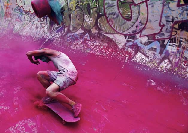 Topheadz War à Berlin - La guerre en couleurs et en skateboard 13