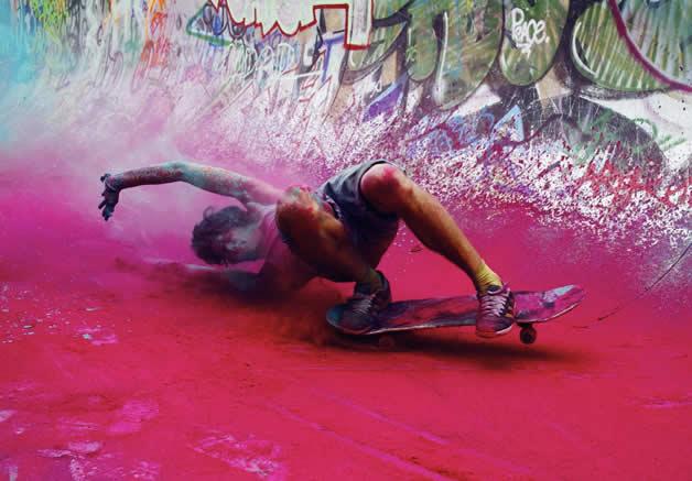Topheadz War à Berlin - La guerre en couleurs et en skateboard 16