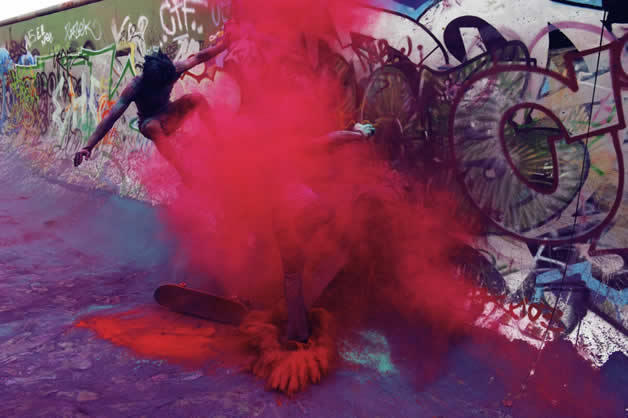 Topheadz War à Berlin - La guerre en couleurs et en skateboard 19