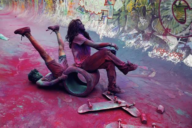Topheadz War à Berlin - La guerre en couleurs et en skateboard 21