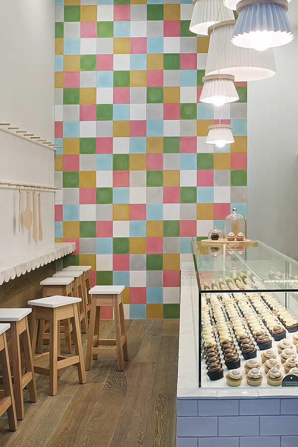 5 Design d'intérieur de Shop Cupcakes qui ont la classe 21