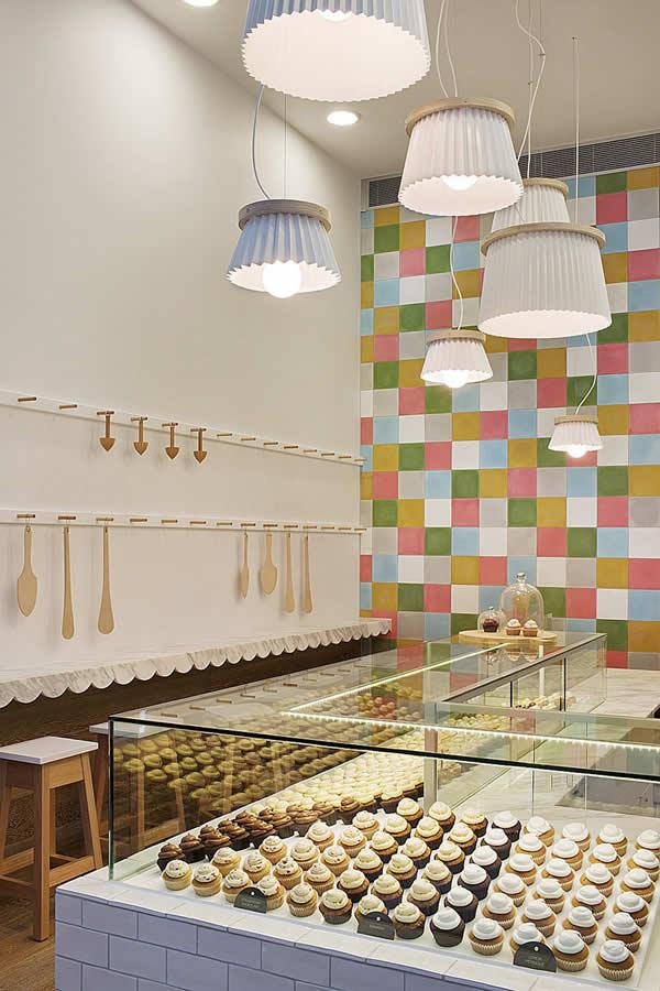 5 Design d'intérieur de Shop Cupcakes qui ont la classe 23