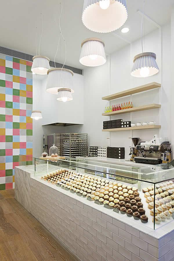 5 Design d'intérieur de Shop Cupcakes qui ont la classe 25