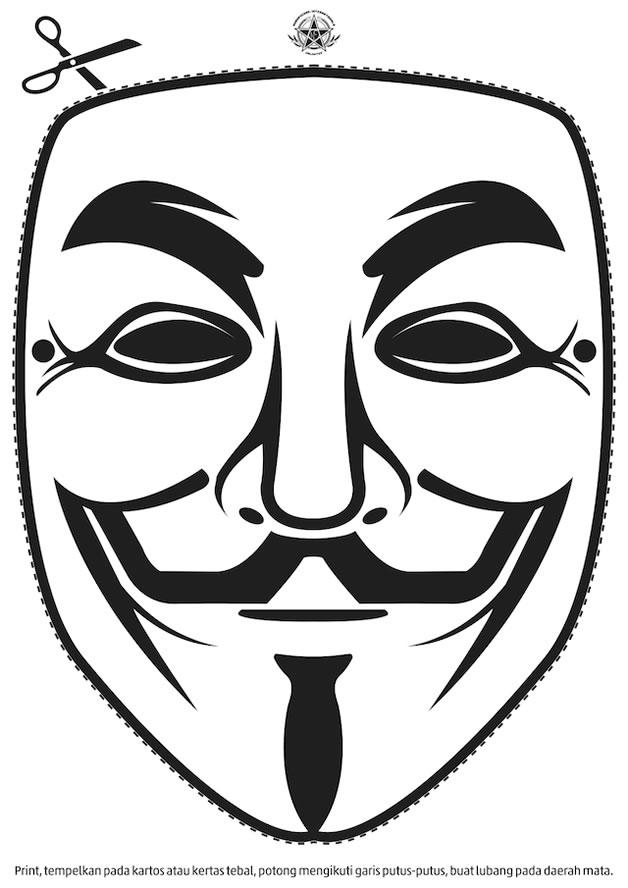 Devenez un Anonymous, créez et portez le masque 5