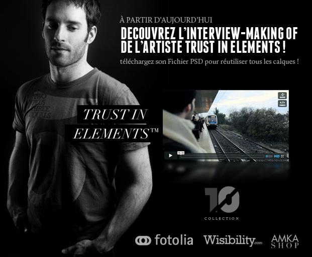 """Télécharger le PSD complet """"Trust in Elements"""" de TEN by Fotolia 3"""