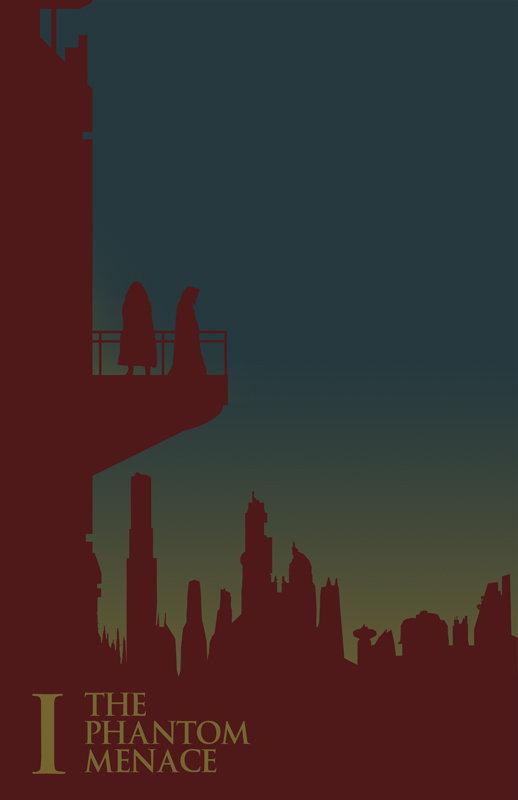 Posters minimalistes StarWars 2
