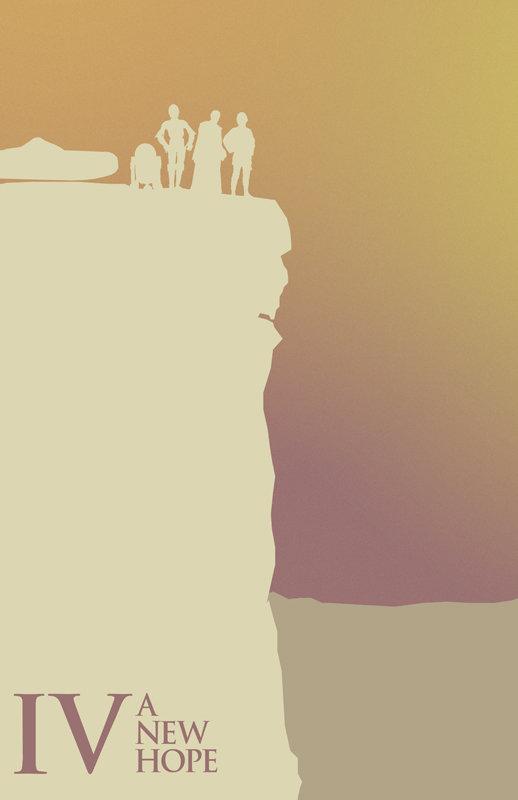 Posters minimalistes StarWars 5