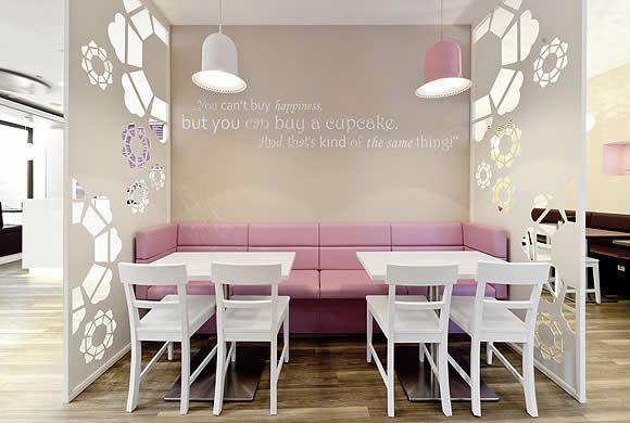 5 Design d'intérieur de Shop Cupcakes qui ont la classe 33