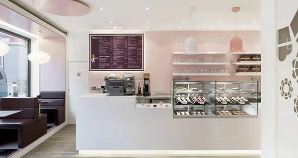 5 Design d'intérieur de Shop Cupcakes qui ont la classe 34
