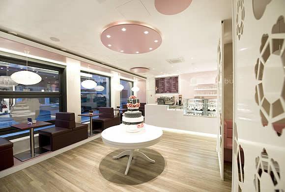5 Design d'intérieur de Shop Cupcakes qui ont la classe 37