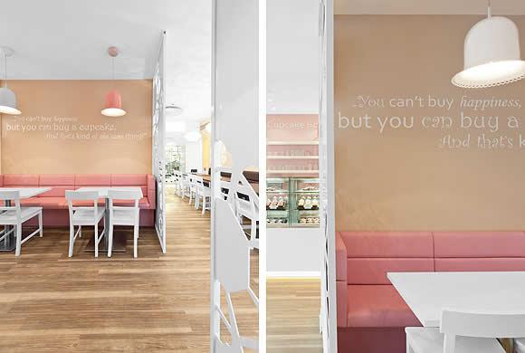 5 Design d'intérieur de Shop Cupcakes qui ont la classe 39