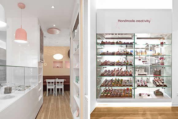 5 Design d'intérieur de Shop Cupcakes qui ont la classe 40