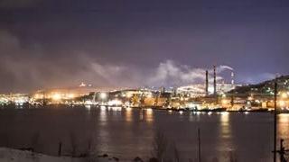 Timelapse de Murmansk en Russie 1