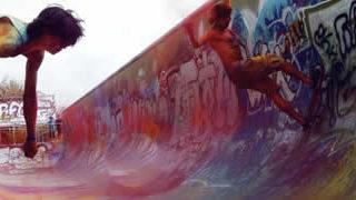 Topheadz War à Berlin - La guerre en couleurs et en skateboard 1