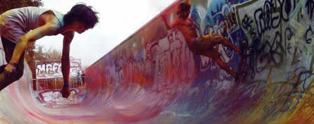 Topheadz War à Berlin - La guerre en couleurs et en skateboard 2