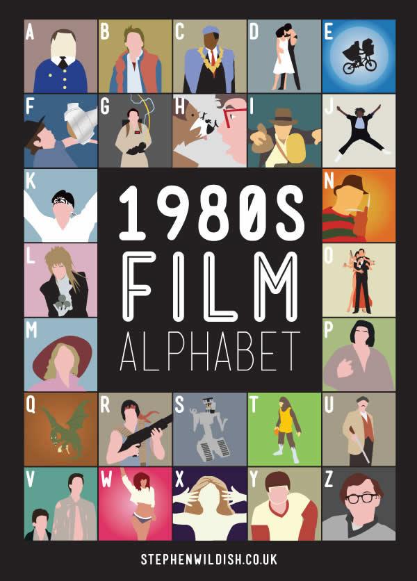 L'alphabet des films des années 80 et 90 2