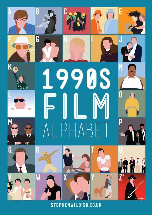 L'alphabet des films des années 80 et 90 3