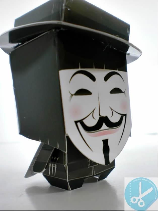 Devenez un Anonymous, créez et portez le masque 7