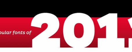 Les 15 typographies les plus populaires de 2011 11