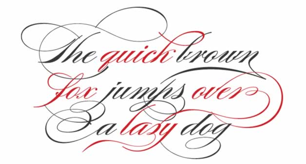 Les 15 typographies les plus populaires de 2011 4