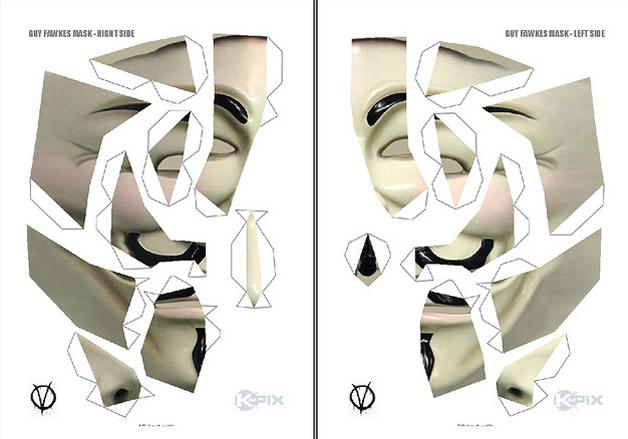 Devenez un Anonymous, créez et portez le masque 3