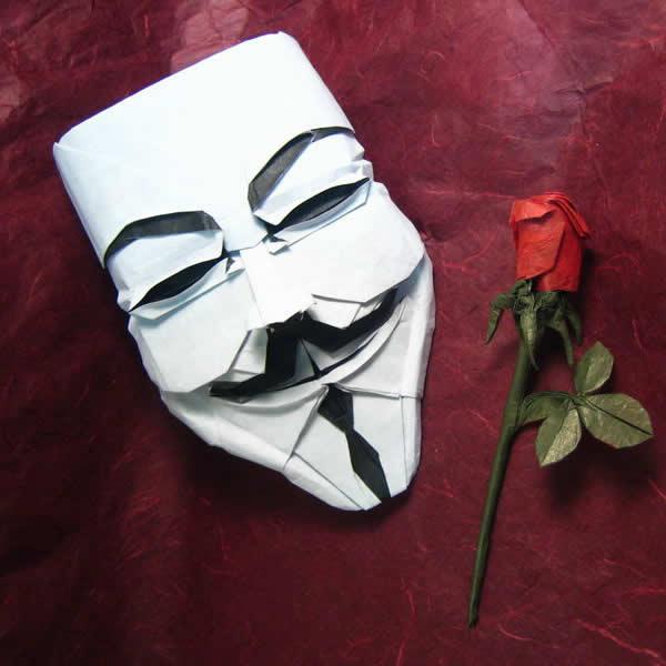 Devenez un Anonymous, créez et portez le masque 9