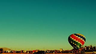 Timelapse du décollage de montgolfières