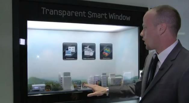 Votre fenêtre futuriste par Samsung 2