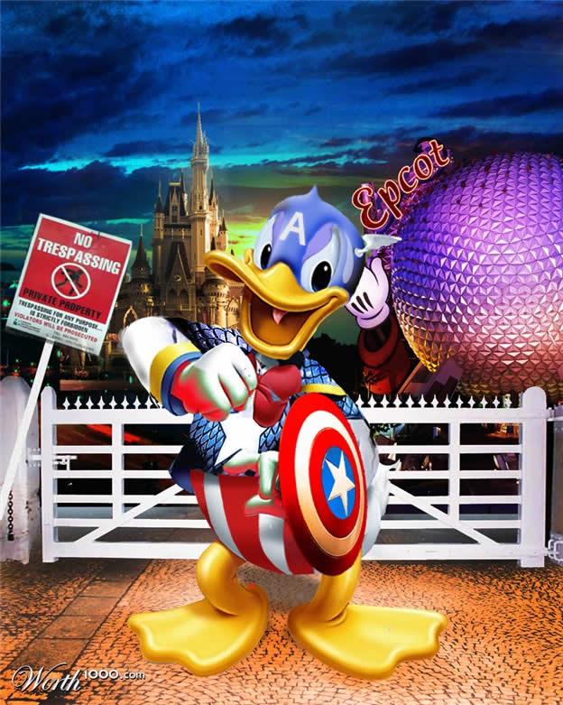 Marvel VS Disney, les 20 meilleurs montages hybrides 3