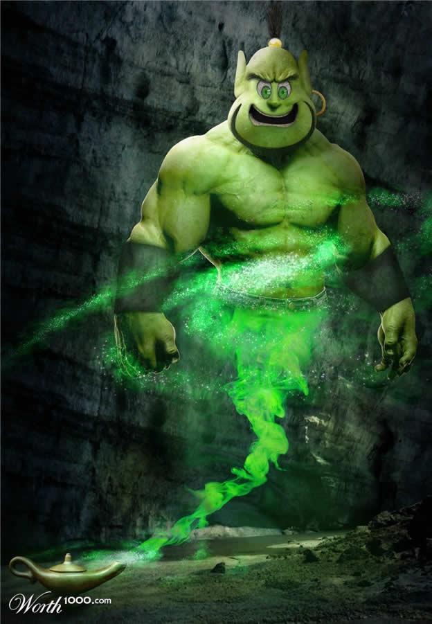Marvel VS Disney, les 20 meilleurs montages hybrides 8